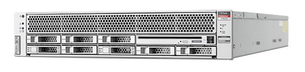 The ORACLE Sparc T4-1 server