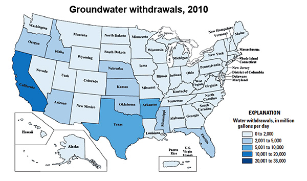 a hydrologic budget that considers both surface water and groundwater